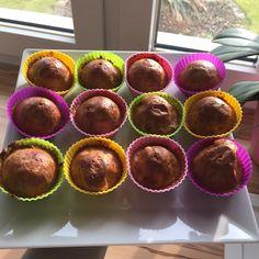 Spelt flour apple cinnamon muffins, no suggar added Apple Cinnamon Muffins, Cinnamon Apples, Spelt Flour, Breakfast, Food, Morning Coffee, Essen, Meals, Yemek
