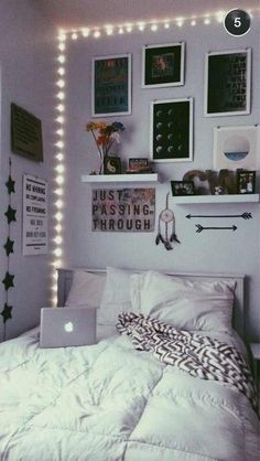 Teen Room Wall Decor.Hipster Teen Bedroom