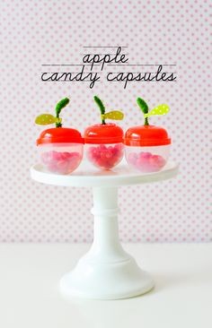 apple candy capsules {stevie pattyn for shop sweet lulu}