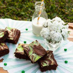 Brownie de chocolate com menta: delicinha de #ochefeachata especial dessa semana! #food #yummy #chocolate