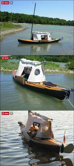 Canoe tent