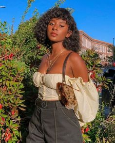 Mode Outfits, Girl Outfits, Fashion Outfits, Fashion Tips, Styles Courts, Mode Ootd, Curly Lace Front Wigs, Front Lace, Black Girl Aesthetic