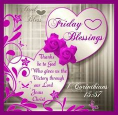 friday blessings/facebook   Friday Blessings Pictures, Photos, and Images for…