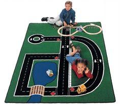 "Amazon.com - Neighborhood Carpet (4'1"" x 5'10"") - Area Rugs"