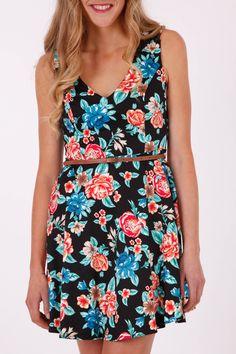 Sunny Girl Floral Dress