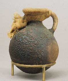 Small Jug sealed with Cloth