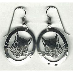 Squirrel face earrings.....FUNNY...just makes me smile
