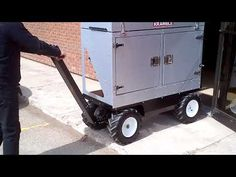 Electric All-Terrain Maintenance Cart - available at PUG Technologies I. Electric Utility, Utility Cart, Workplace, Pugs, Platform, Trucks, Technology, Metal, Shop