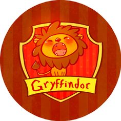 Harry potter button - Gryffindor House from isthatwhatyoumint for davina