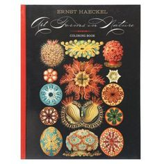 Ernst Haeckel: Art Forms in Nature: Coloring Book, White