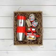easy gifts for teens Make And Sell Easy Gifts, Creative Gifts, Homemade Gifts, Birthday Gifts For Girlfriend, Birthday Gifts For Girls, Christmas Mood, Christmas Gifts For Her, Nutella Gifts, Box Surprise