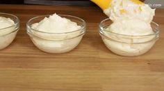tort fanta cu suc de portocale crema impartita Kiwi, Pudding, Ice Cream, Desserts, Food, No Churn Ice Cream, Tailgate Desserts, Deserts, Icecream Craft