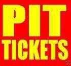 #Ticket  1 PIT Tickets Kenny Chesney Molson Canadian Amphitheatre Toronto Thursday 6/9/16 #deals_us