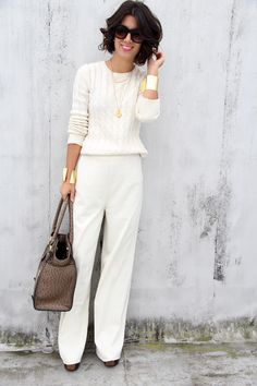 This look is perfect for a New Years Day lunch.