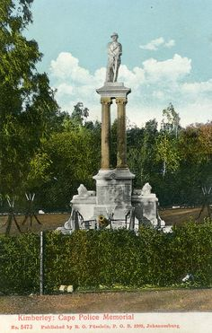 The Graveyard Detective: Boer War Grave Sites