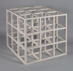 Sol LeWitt 1965, 3 x 3 x 3