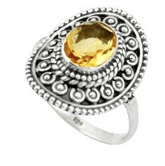 230a1bd0557b5 Buy Citrine Silver Rings At Wholesale Price. Citrine Jewelry