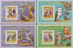 BUR 14103 bOwls Owls, Stamps, Gallery Wall, Frame, Home Decor, Seals, Picture Frame, Decoration Home, Room Decor