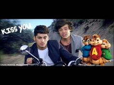 KISS YOU - One Direction - Alvin and the Chipmunks Version by Chuck Monr...