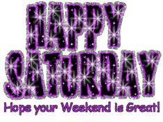 saturday quotes for facebook | All Graphics » Glittering Saturday Graphic