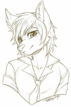 Animal drawings cool drawings furry art furry wolf t. Furry Wolf, Yiff Furry, Art Drawings Sketches, Animal Drawings, Cute Drawings, Furry Pics, Furry Art, Art Plastic, Pencil Drawing Tutorials
