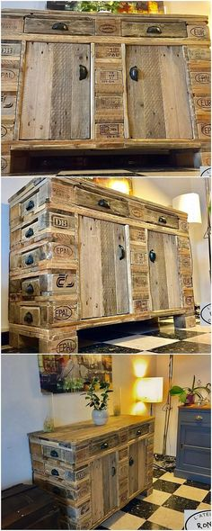Fresh and Inexpensive Home Furnishings with Old Shipping Pallets: Using the wood pallet material in the home furnishings is the latest trend these days and it is definitely replacing all other trends for sure. Pallet Furniture Designs, Wood Pallet Furniture, Recycled Furniture, Furniture Styles, Wood Pallets, Diy Furniture, Pallet Chair, Pallet Wood, Diy Pallet Projects