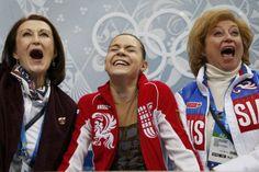 【スライドショー】ソチ五輪:20日、フィギュア女子フリーや女子アイスホッケー決勝など - WSJ.com