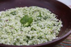 Mexican Cauliflower White Rice  Mexican rice is a great addition to any salad or salsa. The texture feels like if you were eating a grain and it makes eating and digesting cauliflower very easy. Tastes great if you add some fresh tomato.