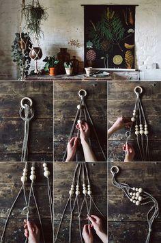 DIY plant hanger / Blumenampel