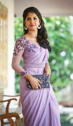 Indian Dress Bollywood Dance Performance Dresses Sri Lanka Saree Blouse India Sari for Women Clothes Sare Bangladesh Half Saree Designs, Pattu Saree Blouse Designs, Fancy Blouse Designs, Saree Blouse Patterns, Bridal Blouse Designs, Saree Jacket Designs Latest, Blouse Batik, Stylish Blouse Design, Saree Draping Styles