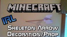 REAL LIFE Minecraft Arrows Decoration/Prop + Tutorial (DIY)