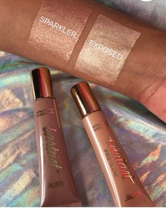 Tarte's New Liquid Highlighters Are So Bright, It's Like Staring Into the Sun Girls Makeup, Love Makeup, Makeup Ideas, Bronzer, Rose Gold Highlights, Minimalist Makeup, Manicure, Nails, Lipsticks