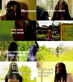 Knowing About Michonne #TWD
