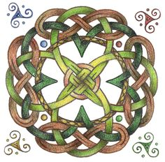 Celtic: wish this was in cross stitch Viking Designs, Celtic Knot Designs, Celtic Symbols, Celtic Knots, Mayan Symbols, Egyptian Symbols, Ancient Symbols, Celtic Quilt, Celtic Cross Stitch