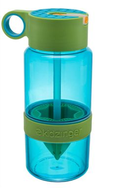 Most children dislike drinking 'plain' water and will always choose sugary drinks over water. We say ditch the sugar, The Kid Zinger with its built in reamer allows parents to give their children a great tasting, healthy fruit infusion. #drinksforkids #healthydrinks #fruitinfusions #kidzinger #waterbottle #healthykids