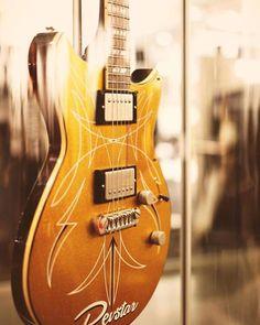 Custom gold sparkle Revstar.
