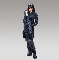 military girl, wonbin lee on ArtStation at www.artstation.co...