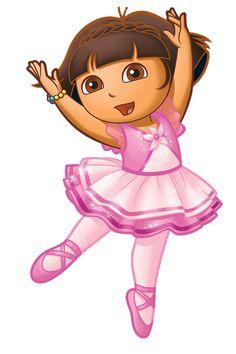 Dora Ballet clip art