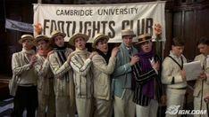 Cambridge gentlemen from Chariots of Fire.