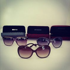 Gafas de sol con estuche incluido  $195 Cada uno