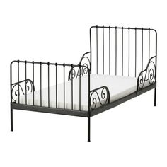 Adorable Iron Twin Bed. IKEA