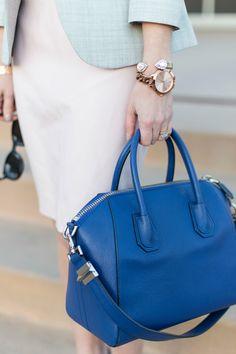 Givenchy Antigona Blue