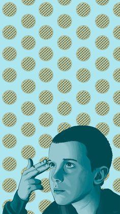 L    Eleven phone wallpaper    Stranger Things