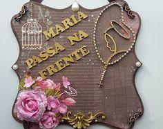 PLACA MARIA PASSA NA FRENTE