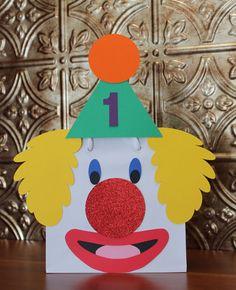 Custom Clown Circus Gift Bag