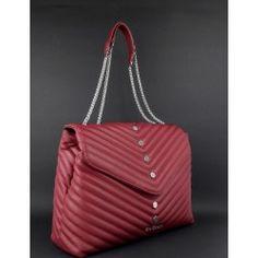 Gio Cellini   Borsa A Spalla Donna Ecopelle Bordeaux Borchiette Esagonali  Prezzo 149 81316318d15
