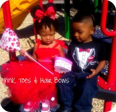 Minnie Mouse Tutu Dress and earsValentine's by PinkToesAndHairBows, $50.00