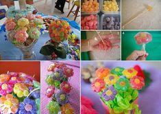 Semplicemente Chic: Come realizzare fiori e alberi di caramelle!