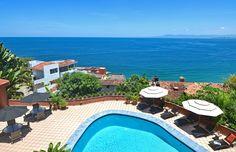 Villa Tita pool terrace