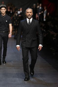 ~ Living a Beautiful Life ~ Dolce&Gabbana Winter 2016 Men's Fashion Show